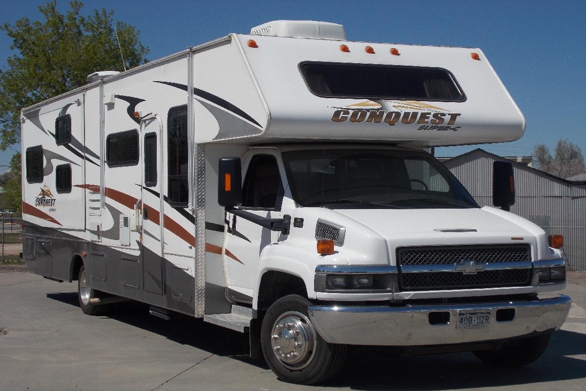 Minnie Winnie Floor Plans 37 Ft Conquest Bunkhouse Colorado Rv Colorado Rv